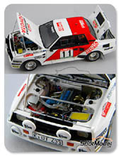 Kit 1/24 Scuderia Italia.Lab - Toyota Celica TA64 Group B - Nº 11 - Rally de Portugal 1984 - kit Multimedia