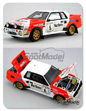 Kit 1/24 Scuderia Italia.Lab - Toyota Celica TA64 Group B Marlboro - Nº 4 - kit Multimedia