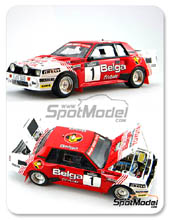 Kit 1/24 Scuderia Italia.Lab - Toyota Celica TA64 Group B Belga - Nº 1 - kit Multimedia