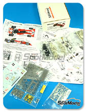 Kit 1/43 This Way Up - Surtees TS9B Flame Out - Nº 22 - Tim Schenken - Gran Premio de Inglaterra 1972 - maqueta de metal