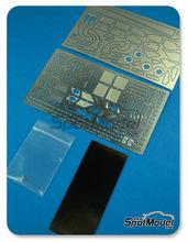 Fotograbados 1/24 Hobby Design - BMW M3 - DTM 2012 - fotograbados + piezas de metal + resina para kits de Revell REV07178, REV07082