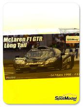 Maqueta de coche 1/24 Fujimi - McLaren F1 GTR Long Tail - Cola larga Loctite - Nº 41 - 24 Horas de Le Mans - maqueta de plástico