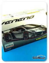 Maqueta de coche 1/24 Fujimi - Lamborghini Veneno - maqueta de plástico