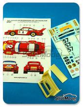Transkit 1/24 Reji Model - Porsche 934/5 Gelo Racing Team - Nº 6 - Toine Hezemans - 1000Kms de Nurburgring 1976 - calcas + resinas para kit de tamiya TAM24328