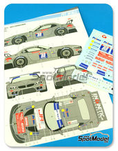 Calcas 1/24 Pit Wall - BMW Z4 GT3 DKR Engineering - Nº 88 - GT Tour 2013 para kits de Fujimi FJ17001, FJ12577, FJ17002