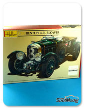 Maqueta de coche 1/24 Heller - Bentley 4.5L Blower  Nº 8 - 24 Horas de Le Mans 1930