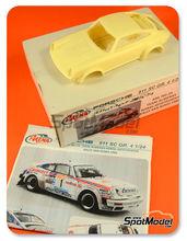 Maqueta de coche 1/24 Arena - Porsche 911SC Grupo 4 Eminence Nº 1 - Walter Röhrl + Geistdorfer - Rally de Sanremo 1981