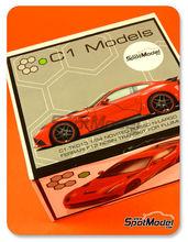 Transkit 1/24 C1 Models - Ferrari F12 Novitec N-Largo   - para usar con kits de Fujimi FJ125626 y FJ125664