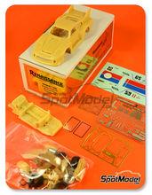Maqueta de coche 1/43 Renaissance Models - Porsche 935 B2/80 Brumos Nº 59 - Brumos + Gregg - Daytona Finale 1980