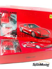 Fujimi: Maqueta de coche escala 1/24 - Ferrari 599 GTB Fiorano - kit de plástico
