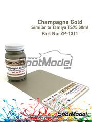 Zero Paints: Pintura - Dorardo Champagne Gold - 60ml - para aerógrafo
