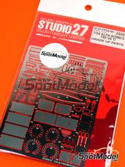 Studio27: Fotograbados escala 1/24 - Alfa Romeo 155 V6 TI - para kit de Tamiya TAM24137, TAM24148, TAM96356, TAM96357