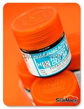 Pintura acrílica Mr Hobby - Naranja translucido - Aqueous Hobby Color - Clear Orange - 10ml