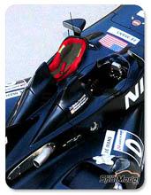 Transkit 1/24 SpotModel - Isofix y asiento GP para Nissan Delta Wing - figuras NO incluidas