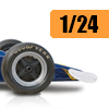 Car scale model kits / F1 cars / 1/24 scale