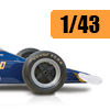Car scale model kits / F1 cars / 1/43 scale: New products image