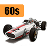 Car scale model kits / F1 cars / 1/20 scale / 60s years