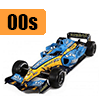 Car scale model kits / F1 cars / 1/20 scale / 00 years