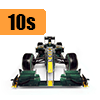 Car scale model kits / F1 cars / 1/20 scale / 10 years