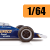 Car scale model kits / F1 cars / 1/64 scale: New products image