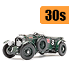 Car scale model kits / GT cars / 24 Hours Le Mans / 30s years