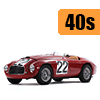 Car scale model kits / GT cars / 24 Hours Le Mans / 40s years