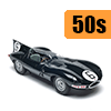 Car scale model kits / GT cars / 24 Hours Le Mans / 50s years