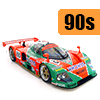 Car scale model kits / GT cars / 24 Hours Le Mans / 90 years