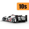 Car scale model kits / GT cars / 24 Hours Le Mans / 10 years