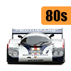 Decals and markings / GT cars / 24 Hours Le Mans / 80s year