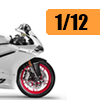 Motorcycle scale model kits / 1/12 scale