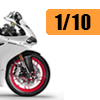 Motorcycle scale model kits / 1/10 scale