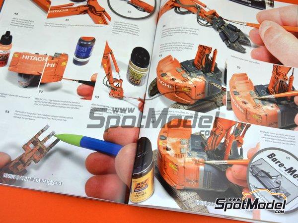 Image 1: Damaged - Weathered and worn: Número 2 - edición en inglés | Revista fabricado por AK Interactive (ref.ABT703)