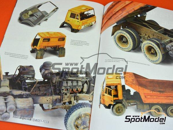 Image 2: Damaged - Weathered and worn: Número 2 - edición en inglés | Revista fabricado por AK Interactive (ref.ABT703)