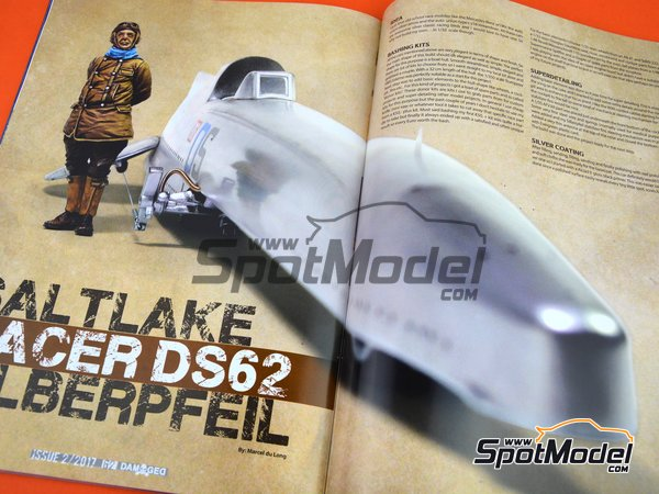 Image 3: Damaged - Weathered and worn: Number 2 - english edition | Magazine manufactured by AK Interactive (ref.ABT703)