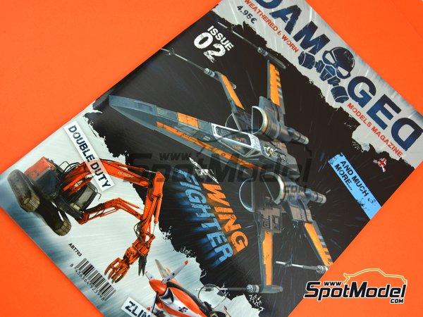 Image 4: Damaged - Weathered and worn: Número 2 - edición en inglés | Revista fabricado por AK Interactive (ref.ABT703)