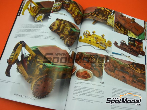 Image 4: Damaged - Weathered and worn: Number 5 - spanish edition | Magazine manufactured by AK Interactive (ref. ABT712)