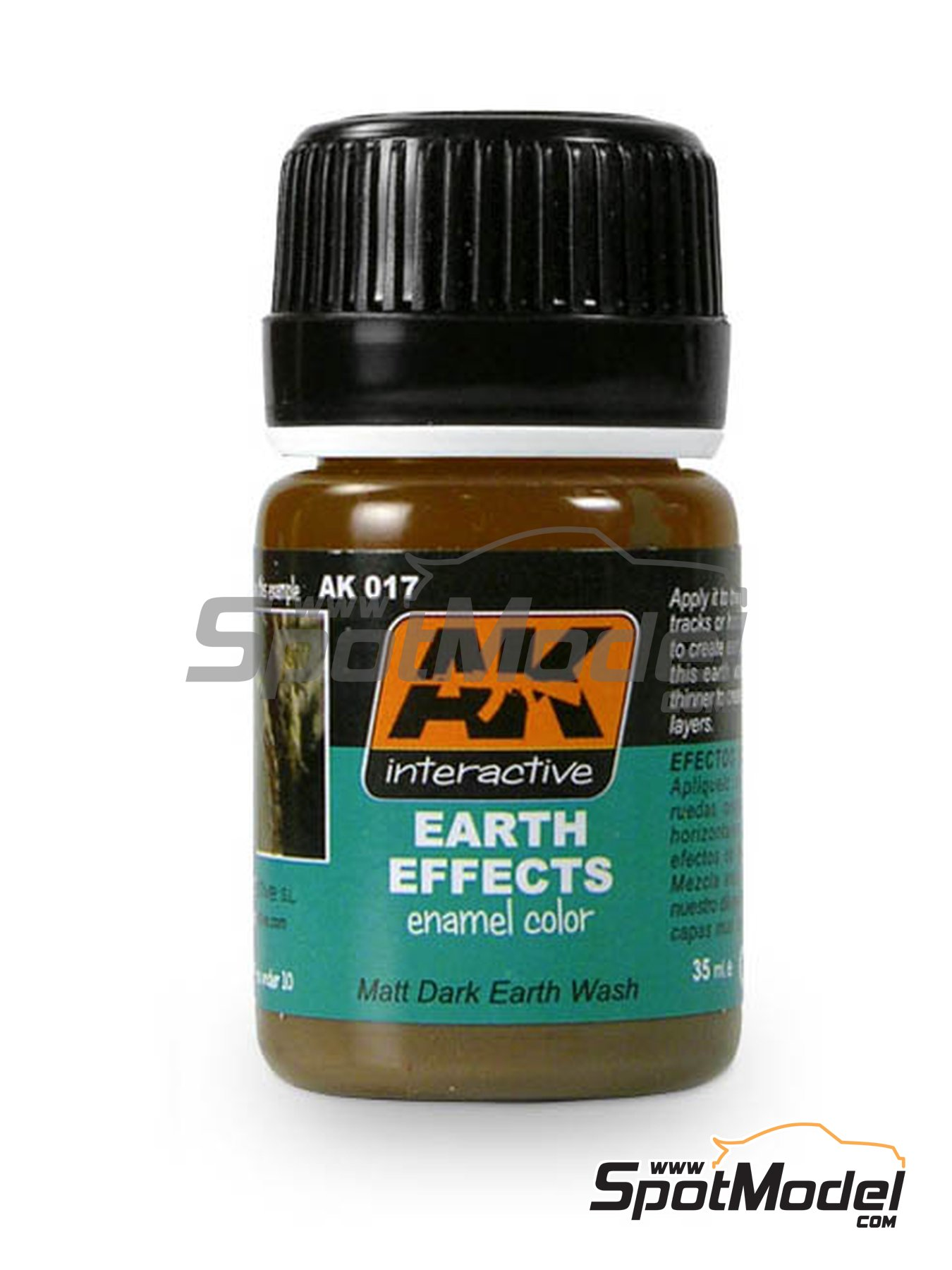 Dark Earth | AK Weathering efect product manufactured by AK Interactive (ref. AK-017) image