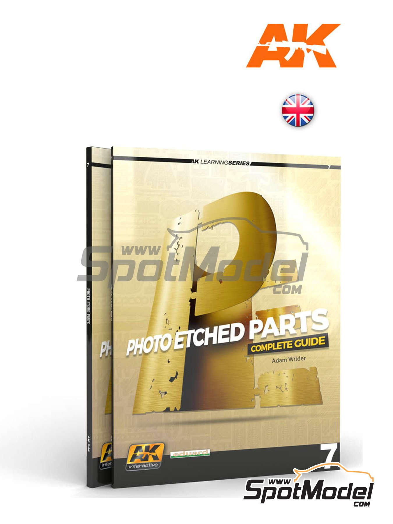 Photoetch parts - AK Learning series number 7 | Libro fabricado por AK Interactive (ref. AK-244) image