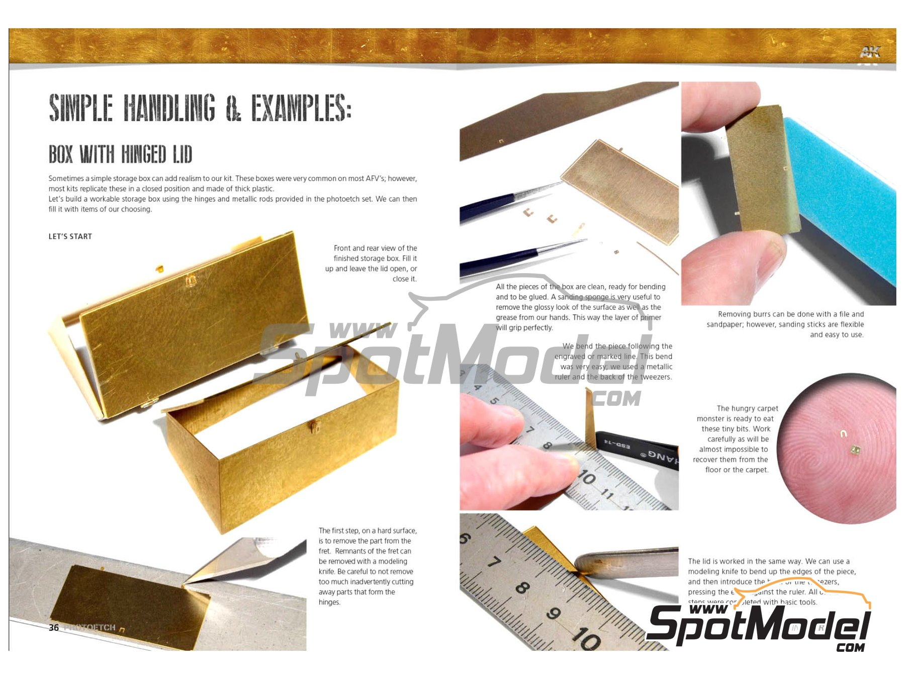 Image 5: Photoetch parts - AK Learning series number 7 | Libro fabricado por AK Interactive (ref. AK-244)