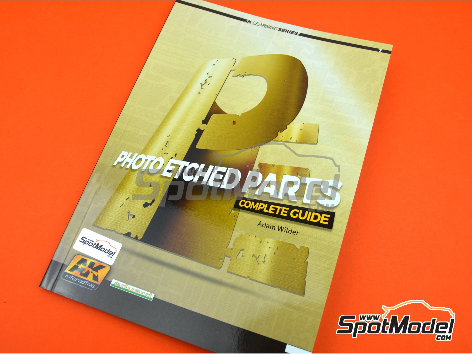 Image 6: Photoetch parts - AK Learning series number 7 | Libro fabricado por AK Interactive (ref. AK-244)