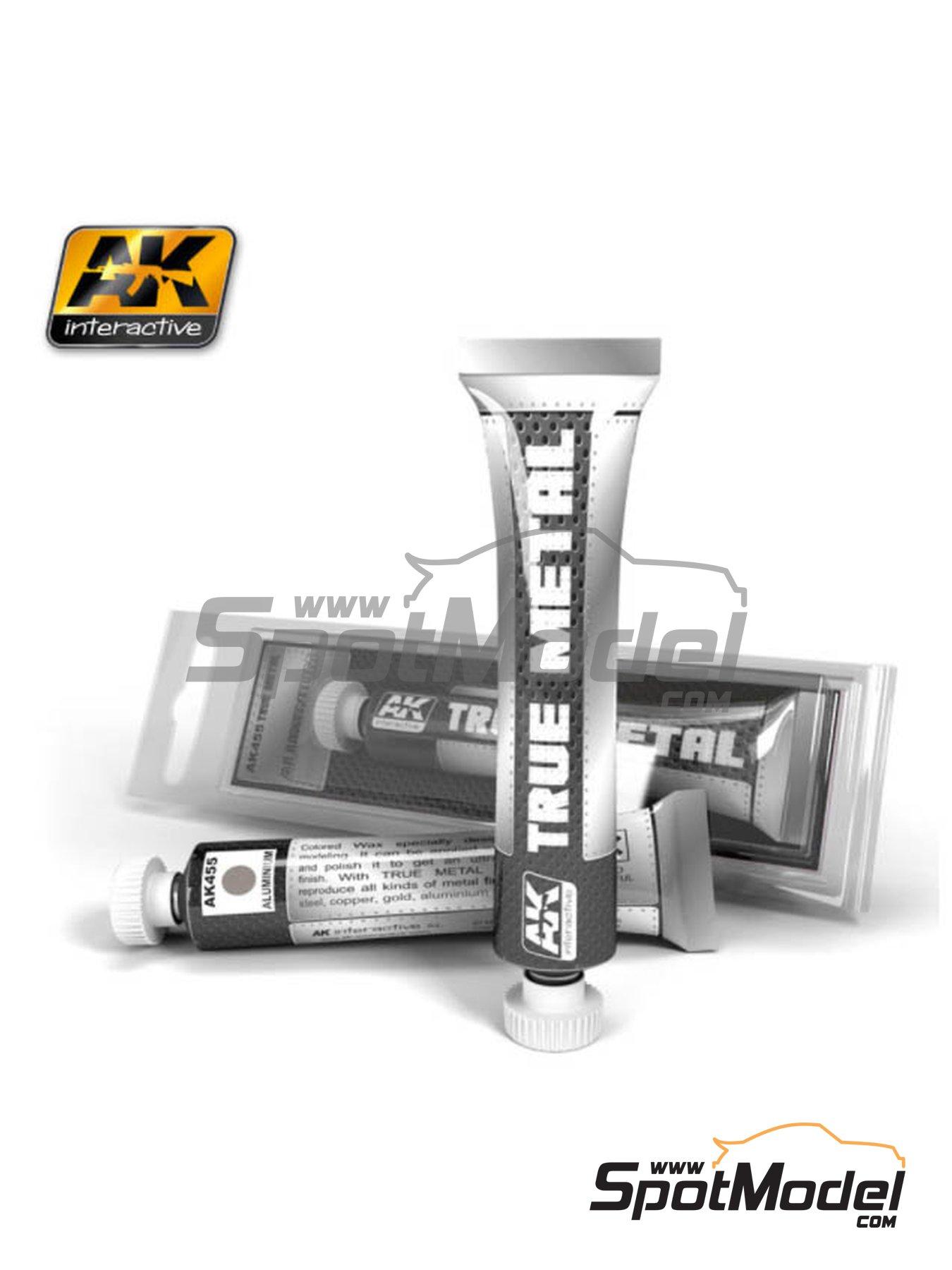 Aluminio | AK True Metal fabricado por AK Interactive (ref.AK-455) image