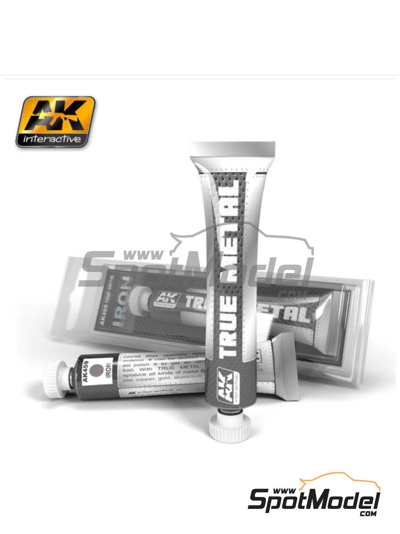 Hierro | AK True Metal fabricado por AK Interactive (ref.AK-459) image