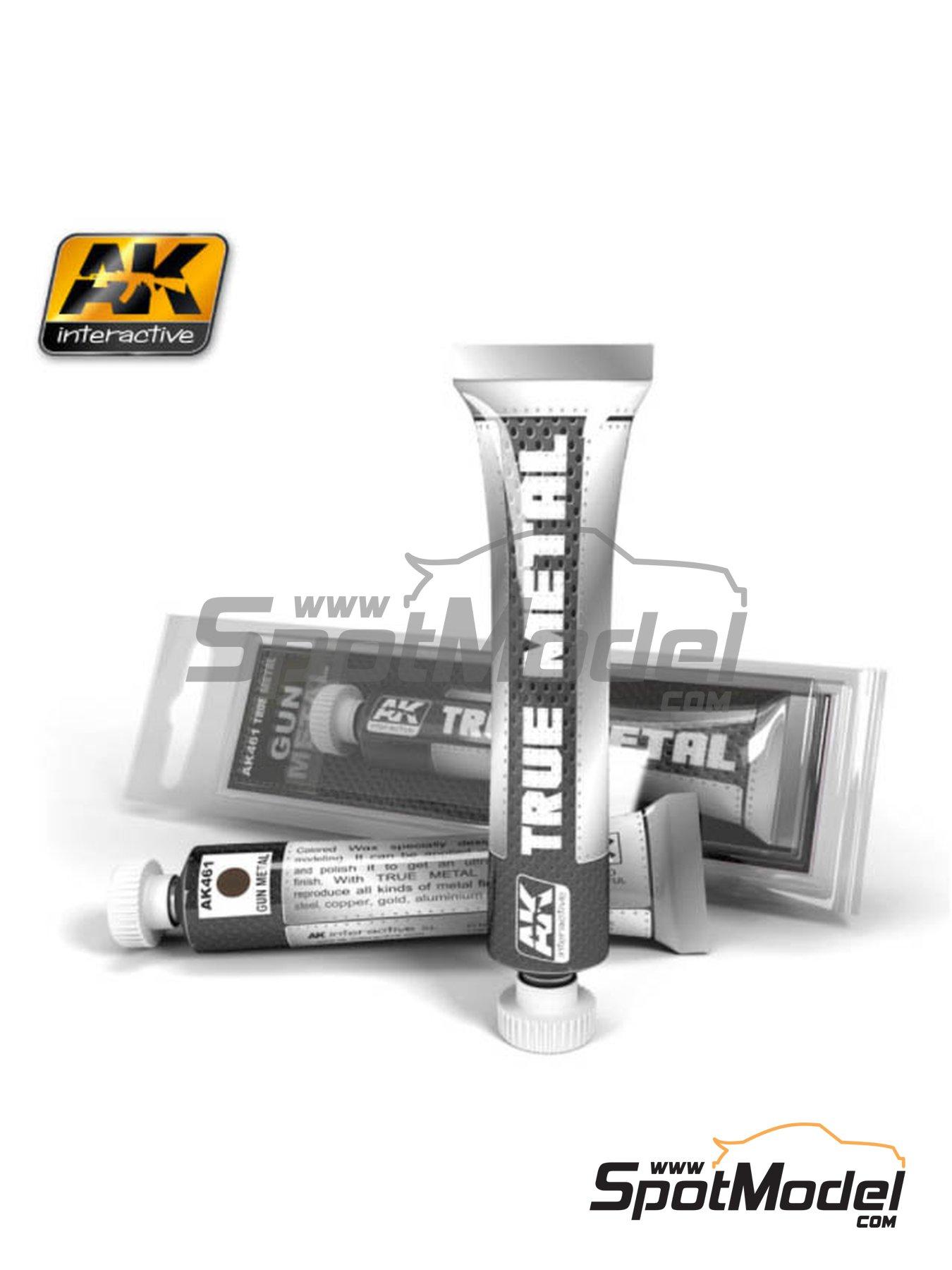 Gris metalizado oscuro | AK True Metal fabricado por AK Interactive (ref.AK-461) image