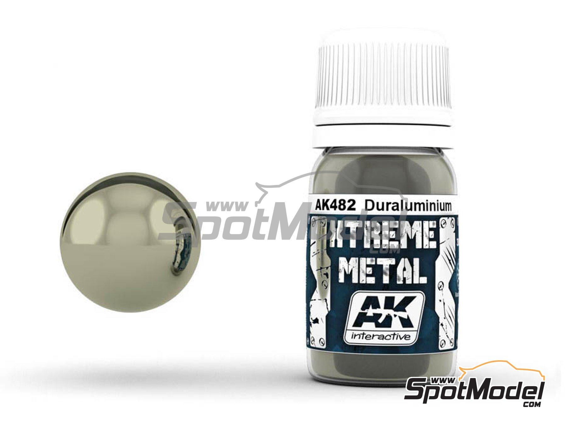 Image 1: Duraluminium | Xtreme metal paint manufactured by AK Interactive (ref.AK-482)