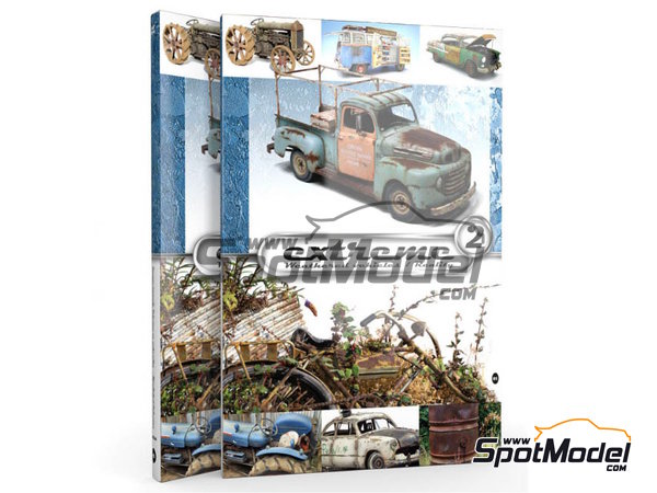 Image 1: Extreme2 - Extreme Weathered vehicles + Extreme reality: English language | Book manufactured by AK Interactive (ref. AK-503)