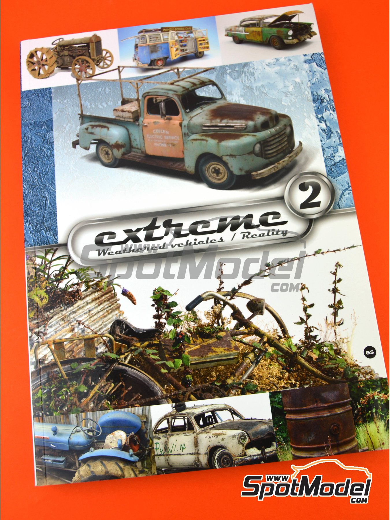 Extreme2 - Extreme Weathered vehicles + Extreme reality: Spanish language | Book manufactured by AK Interactive (ref.AK-504) image
