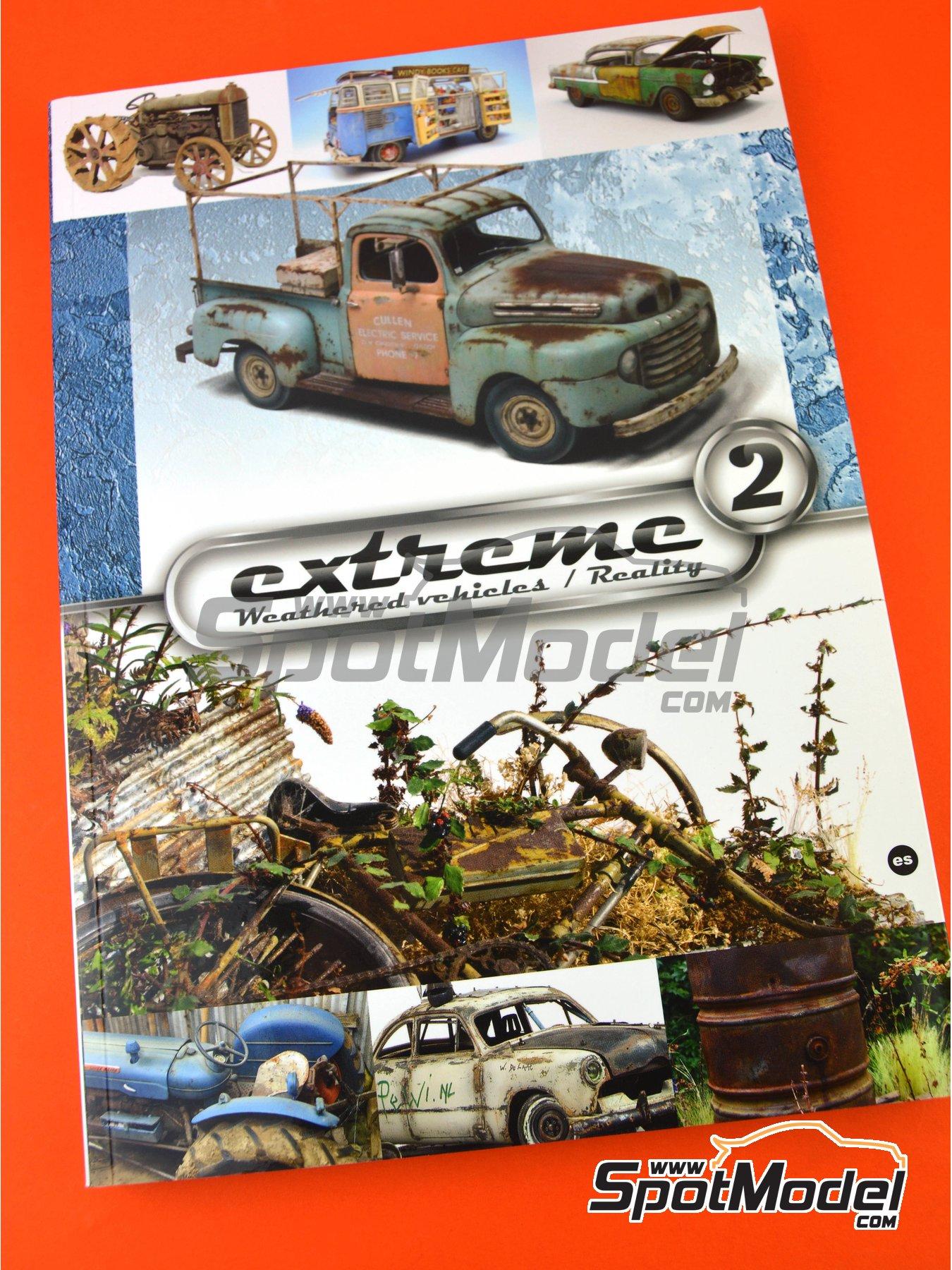 Extreme2 - Extreme Weathered vehicles + Extreme reality: idioma Castellano | Libro fabricado por AK Interactive (ref.AK-504) image