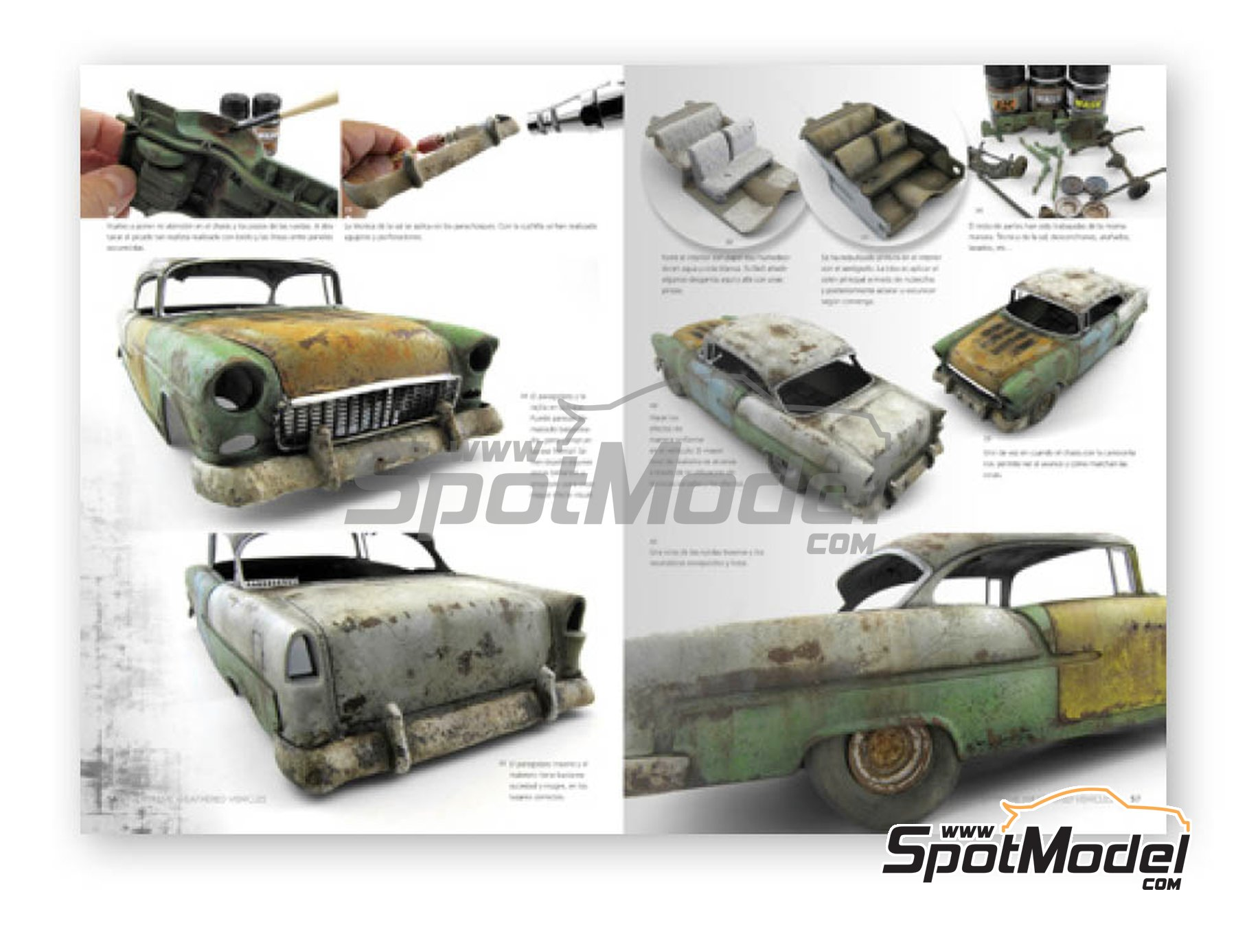 Image 2: Extreme2 - Extreme Weathered vehicles + Extreme reality: Spanish language | Book manufactured by AK Interactive (ref.AK-504)