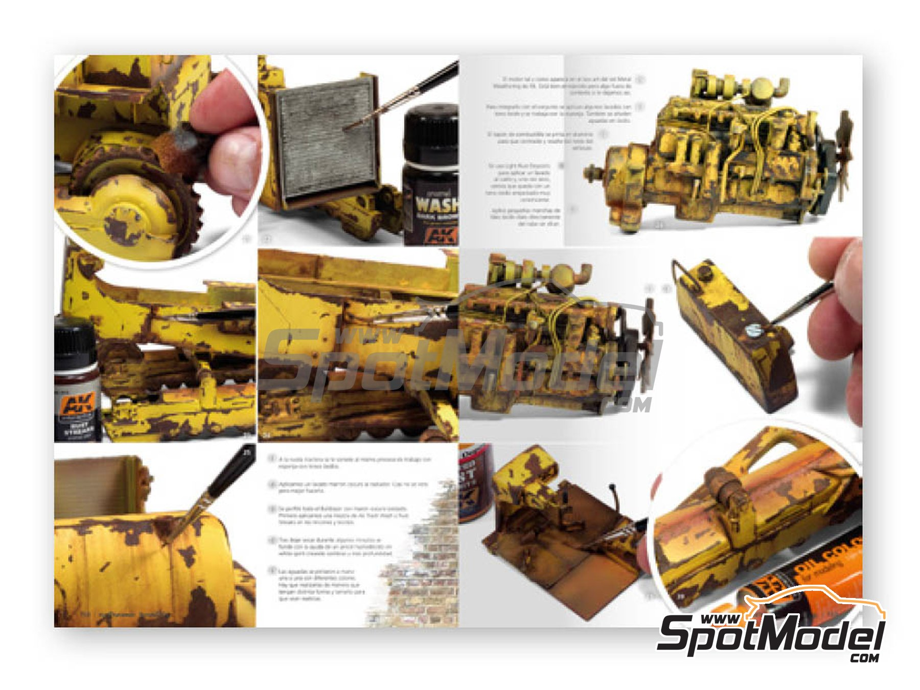 Image 4: Extreme2 - Extreme Weathered vehicles + Extreme reality: Spanish language | Book manufactured by AK Interactive (ref.AK-504)